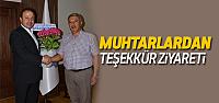 Erbaalı Muhtarlardan Başkan Yıldırım'a Teşekkür Ziyareti