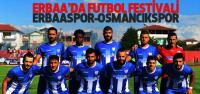 Erbaaspor Evinde Osmancıkspor'u ağırlayacak
