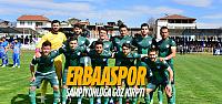 Erbaaspor şampiyonluğa göz kırptı