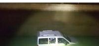 Hafif Ticari Araç Hes Kanalına Uçtu: 1 Ölü, 1 Yaralı