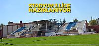 İlçe Stadyumu 3.Lige Hazırlanıyor