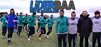 Lider Erbaaspor 2.yarı hazırlıklarını sürdürüyor
