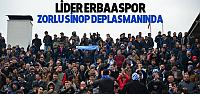 Lider Erbaaspor Sinop Deplasmanında