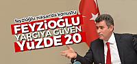 Metin Feyzioğlu yargıda güven yüzde 20'ye düştü