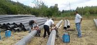 Niksar'da 50 yıllık isale hattı yenileniyor