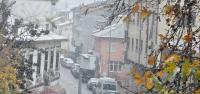 Niksar'da Kar Yağışı