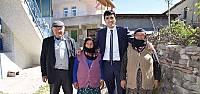 Reşadiye Kaymakamı Faruk Erdem'den Anneler Gününde Şehit Annesine Ziyaret