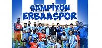 Şampiyon Erbaaspor