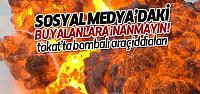 Sosyal Medya'da Tokat'ta Bomba Yüklü Araç İddiaları