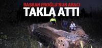 Tokat Belediye Başkanı Eroğlu, trafik kazasında yaralandı
