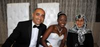 Tokatlı damat, Afrikalı kızla evlendi