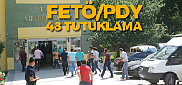 Tokat'ta FETÖ operasyonunda 48 polis tutuklandı