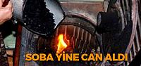 Tokat'ta karbonmonoksit zehirlenmesi: 1 ölü