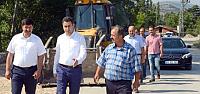 Tokat'ta TOKİ'nin Yol Sorunu Çözülüyor