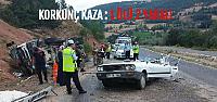 Tokat'ta Trafik Kazası: 1 Ölü, 2 Yaralı