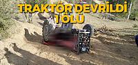 Tokat'ta traktör kazası: 1 ölü