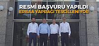 Türk Patent Enstütüsüne 'Erbaa Yaprağı Başvurusu'