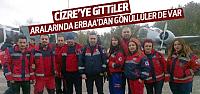 Umke Ekibi Gönüllü Olarak Cizre'ye Gitti