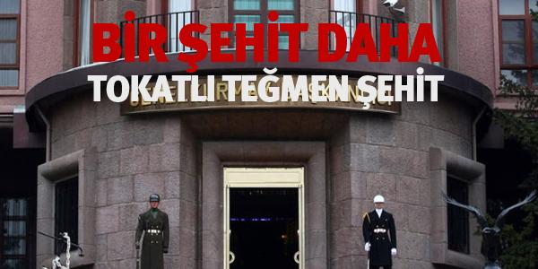 Tokatlı Teğmen Diyarbakır'da Şehit Oldu