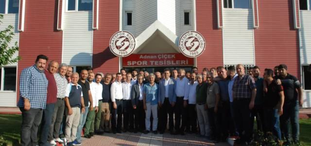 Tokatspor'da yeni yönetim seçildi