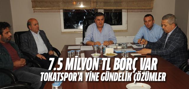 Tokatspor'un yeni yönetiminden mali durum değerlendirmesi