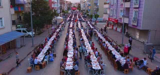 Tokat'ta 5 bin kişilik iftar