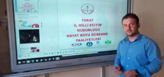 Tokat'ta Hayat Boyu Öğrenme toplantısı yapıldı
