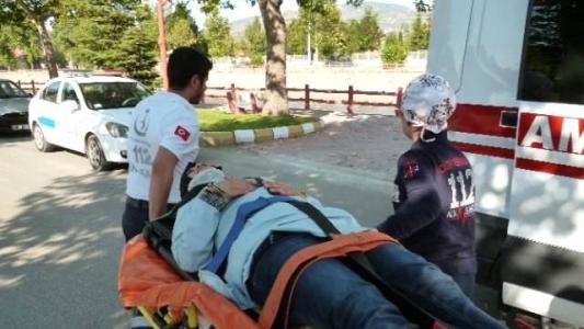 Tokat'ta Trafik Kazası: 1 Yaralı