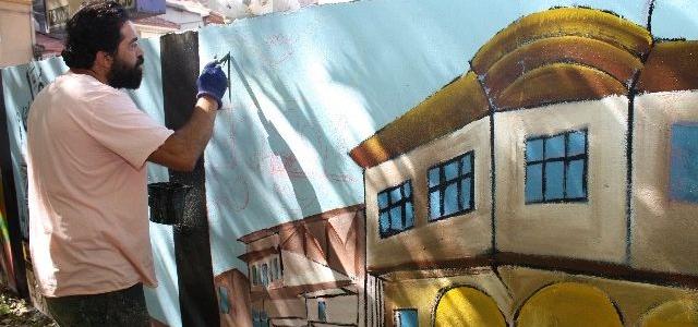 Tokat'ta Trafo Binalarından Sonra Duvarlar Da Renkleniyor