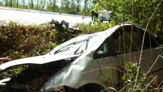 Turhal' da Trafik Kazası: 2 Yaralı