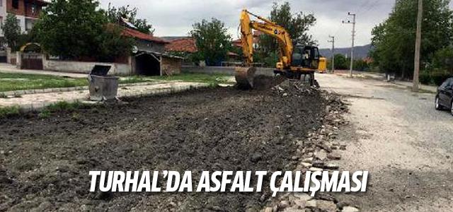 Turhal'da asfalt yollar yenileniyor
