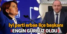 İYİ Parti Erbaa İlçe Başkanı belli oldu