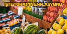 Tokat'ın enflasyon rakamları açıklandı