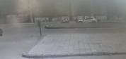Kaza anı güvenlik kameralarına takıldı