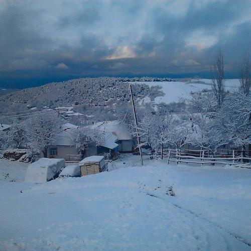 Erbaa'dan Kar Manzaraları