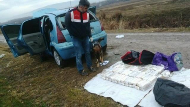 Erbaa'da 52 Kilogram Eroin Ele Geçirildi