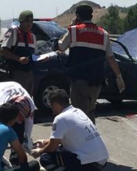 Erbaalı baba-oğul kaza kurbanı.