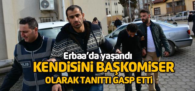 Erbaa'da gasp şüphelisi 2 kişi tutuklandı