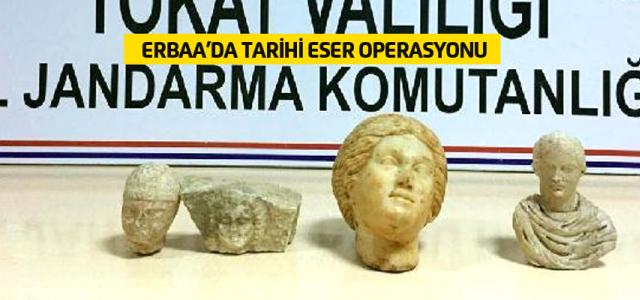 Erbaa'da Tarihi Eser Operasyonu