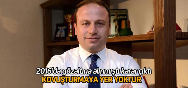 2016'da gözaltına alınan Başkan Hüseyin Yıldırım ile ilgili karar çıktı: kovusturmaya yer yoktur