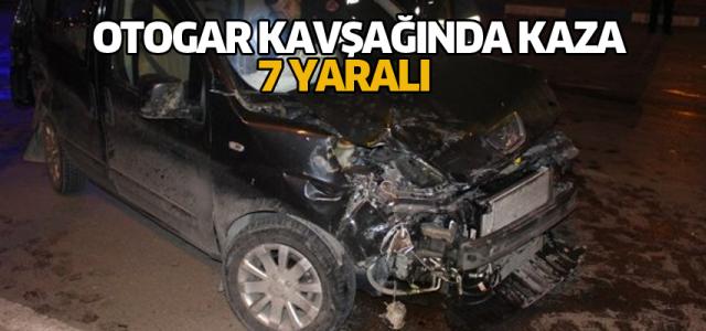 Erbaa'da İki Ticari Araç Çarpıştı: 7 Yaralı