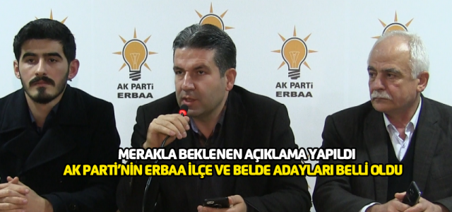 Merakla beklenen açıklama yapıldı AK Parti'nin Erbaa adayı belli oldu
