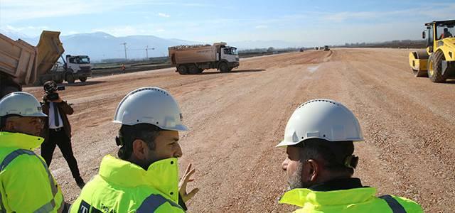 Tokat'ta Yeni Havalimanı İnşaatının Yüzde 35'lik Kısmı Tamamlandı