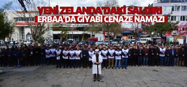 Erbaa'dan Yeni Zelanda'da saldırısına kınama