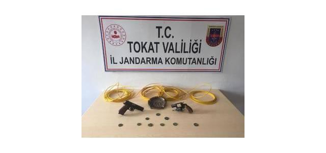 Erbaa'da operasyon 11 gözaltı