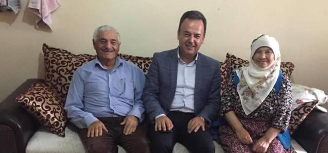 Erbaa Kaymakamı Karacan Şehit ailelerini ziyaret etti