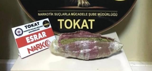 Tokat'ta uyuşturucu operasyonu: 3 tutuklama