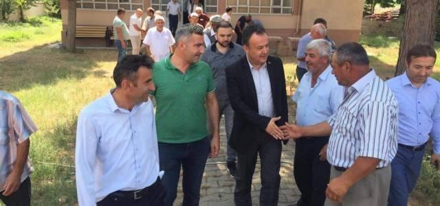 Kaymakam Karacan köy ziyaretlerine devam ediyor