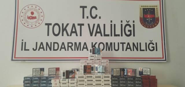 Erbaa'da izinsiz sigara satışına 13 bin lira para cezası