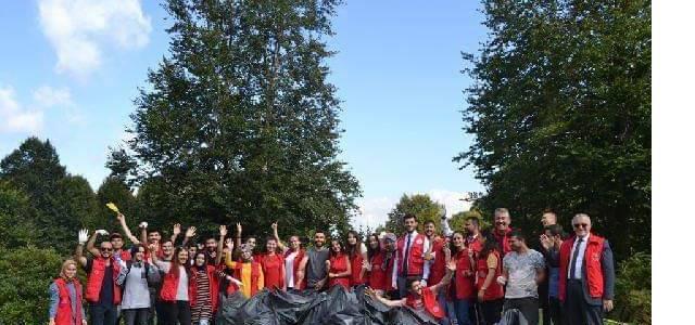 Erbaa'da mesire alanları temizlendi